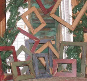 Frames For Primitive Stitchery And Punchneedle