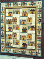 Home Sweet Primitive quilt pattern