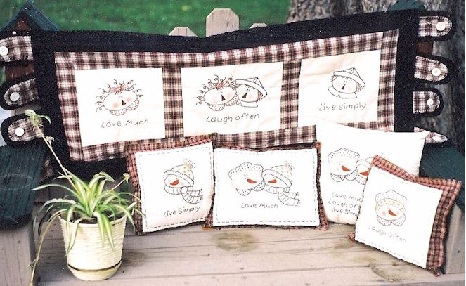 EMBROIDERY FREE PATTERN PRIMITIVE « EMBROIDERY & ORIGAMI
