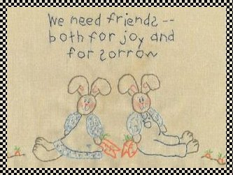 We need friends stitchery